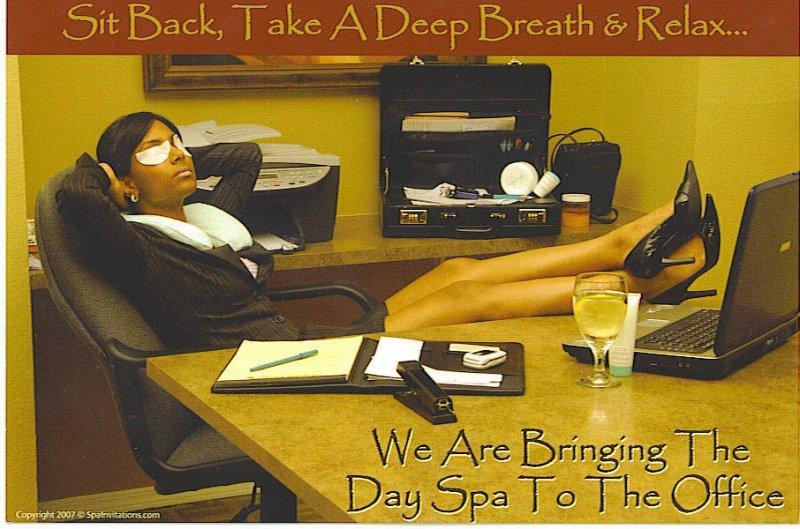 spa office scene